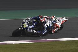 Baz overtaking Jorge Lorenzo, Ducati Team