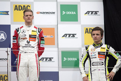 Rookie Podium: Mick Schumacher, Prema Powerteam, Dallara F317 - Mercedes-Benz; Lando Norris, Carlin,