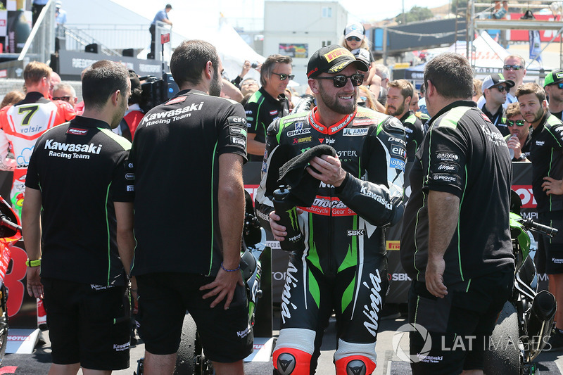 2. Tom Sykes, Kawasaki Racing