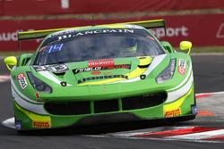 #333 Rinaldi Racing Ferrari 458 Italia: Alexander Mattschull, Daniel Keilwitz
