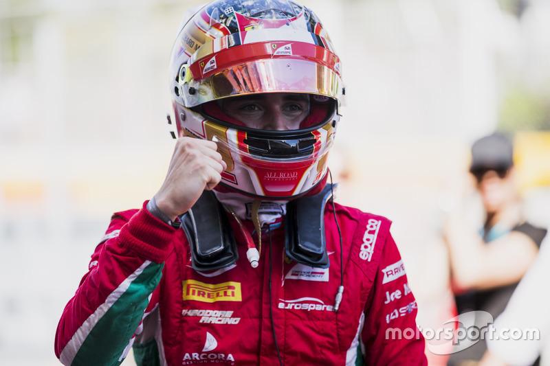 Race winner Charles Leclerc, PREMA Powerteam