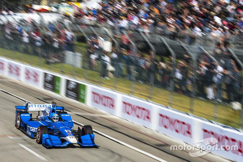 Tony Kanaan, Chip Ganassi Racing. Honda