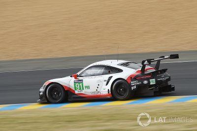 Teste privado em Le Mans