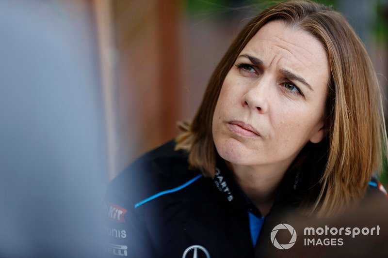 Claire Williams, subdirectora Williams Racing