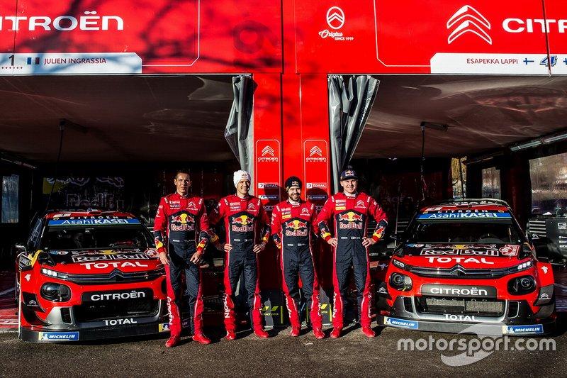 Экипажи и автомобили Citroën Total WRT