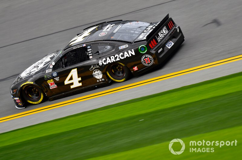 3. Kevin Harvick, Stewart-Haas Racing, Ford Mustang Busch Beer Car2Can