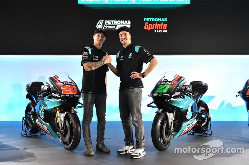 Фабіо Квартараро, Франко Морбіделлі, PETRONAS Yamaha Sepang Racing Team