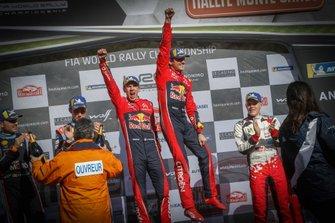Podio: Ganador, Sébastien Ogier, Julien Ingrassia, Citroën World Rally Team Citroen C3 WRC