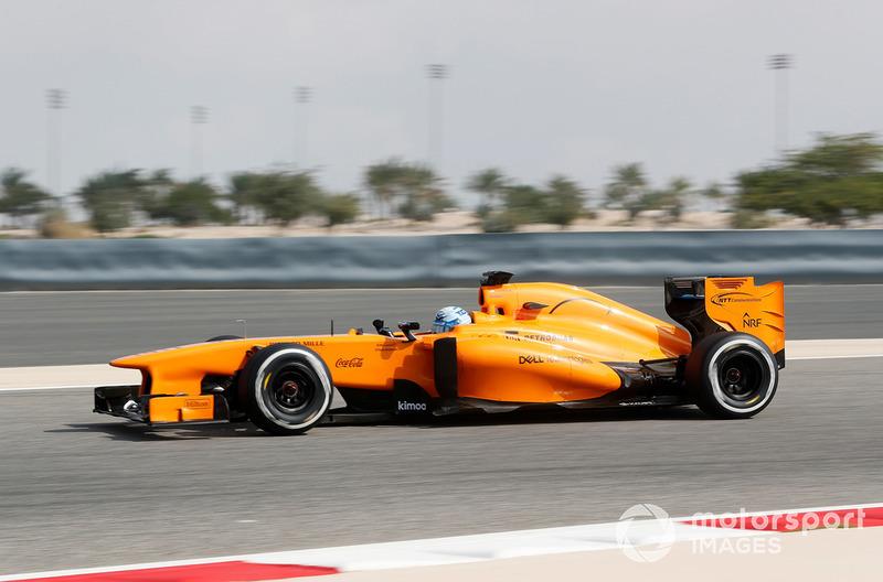 Jimmie Johnson dans la McLaren