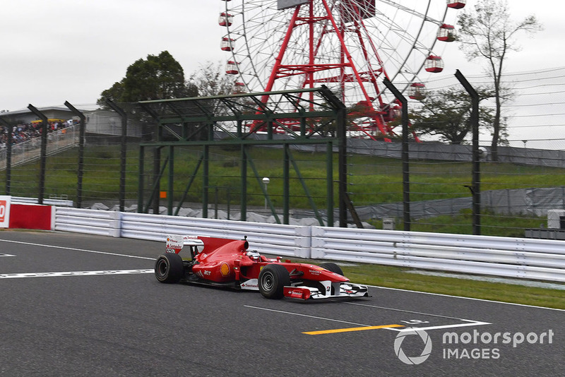 Автомобиль Ferrari, Legends F1 30th Anniversary Lap Demonstration