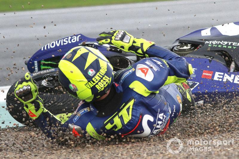 Аварія Валентино Россі, Yamaha Factory Racing