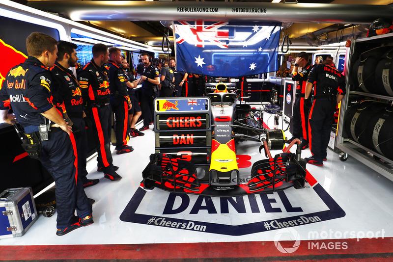 Повідомлення Red Bull для Даніеля Ріккардо, Red Bull Racing RB14