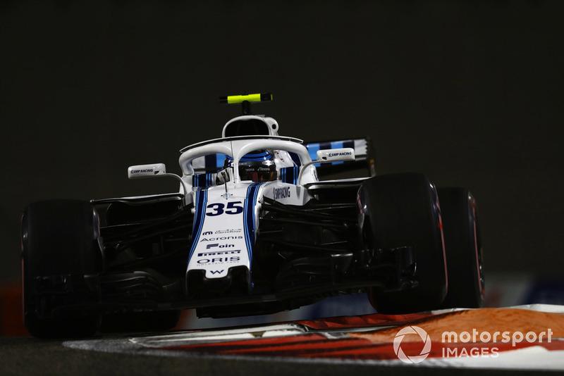 19: Sergey Sirotkin, Williams FW41, 1'38.635