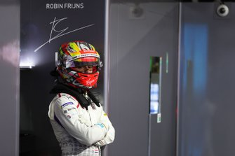 Robin Frijns, Envision Virgin Racing in the garage