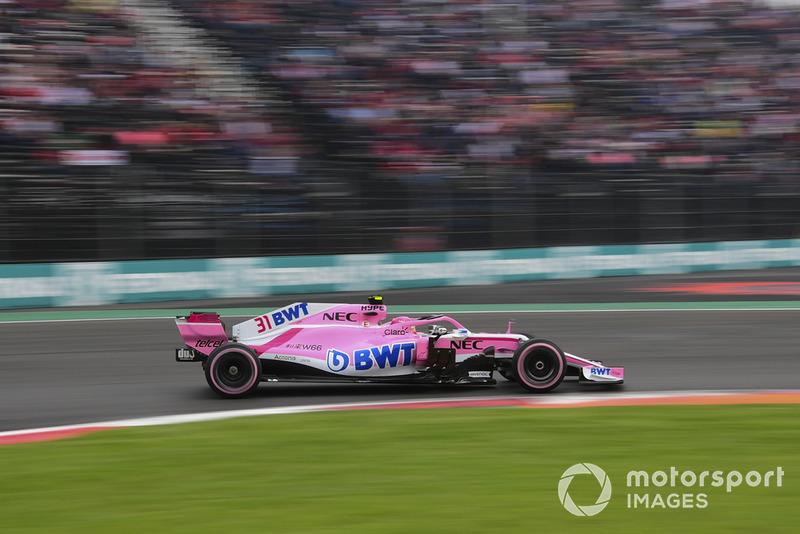 11: Естебан Окон, Racing Point Force India VJM11, 1'16.844