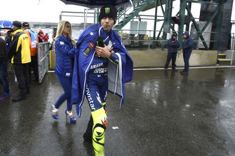MOTO GP GRAND PRIX D'ITALIE DE MISANO 2018 Rossi-leaving-the-grid-british