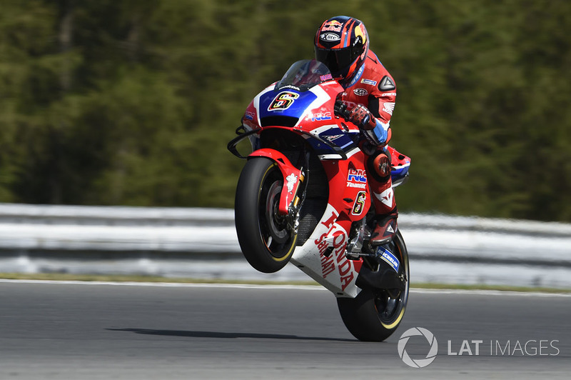 MotoGP Ceko: Stefan Bradl, HRC Honda Team