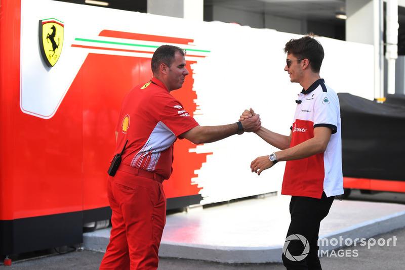 Charles Leclerc, Alfa Romeo Sauber F1 Team and Ferrari