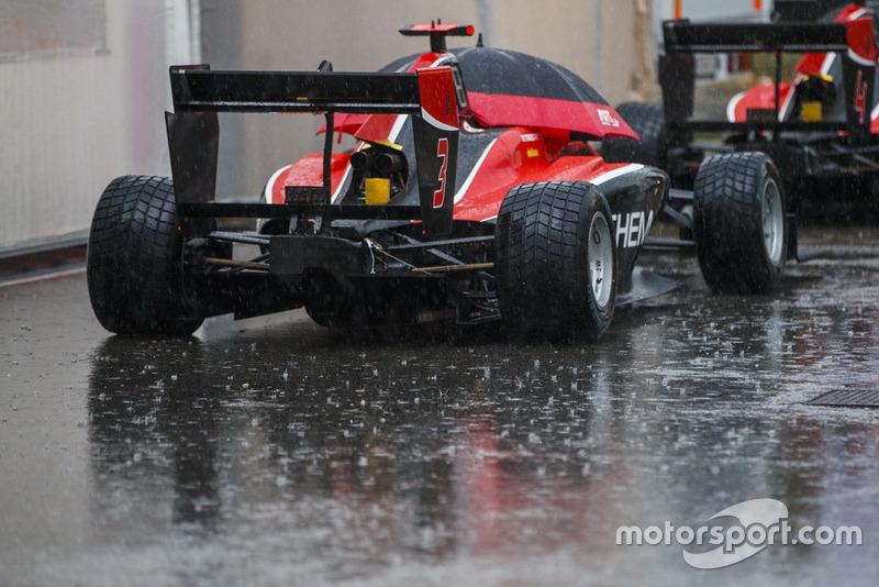 Les 45 minutes d'essais libres ont été annulées à cause de la pluie