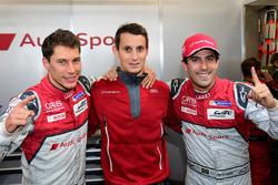 Polesitter: #8 Audi Sport Team Joest, Audi R18 e-tron quattro: Lucas di Grassi, Loic Duval, Oliver Jarvis