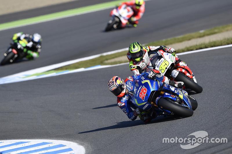 Maverick Viñales, Team Suzuki Ecstar MotoGP, Cal Crutchlow, Team LCR Honda