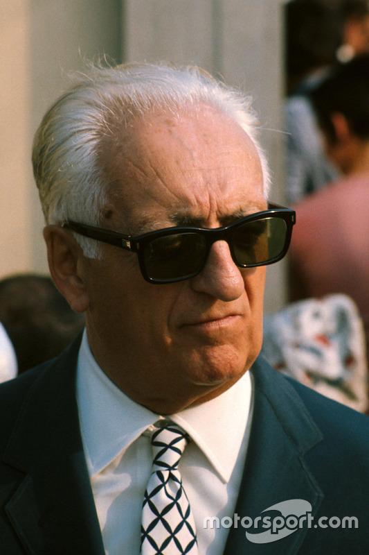 Enzo Ferrari im Jahr 1971