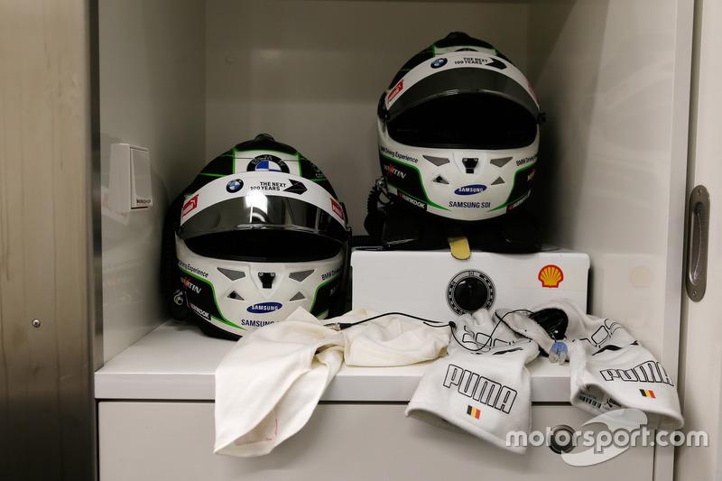 Il casco di  Maxime Martin, BMW Team RBM