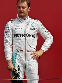 Подиум: Нико Росберг, Mercedes AMG F1