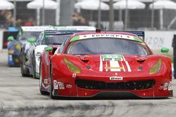 #63 Scuderia Corsa Ferrari 488 GTD : Christina Nielsen, Alessandro Balzan