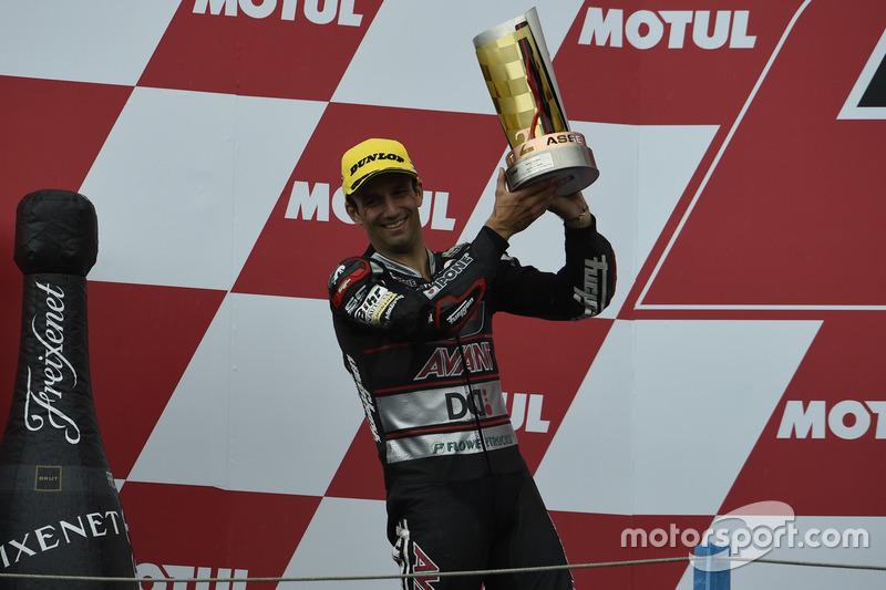 Podyum: 2. Johann Zarco, Ajo Motorsport