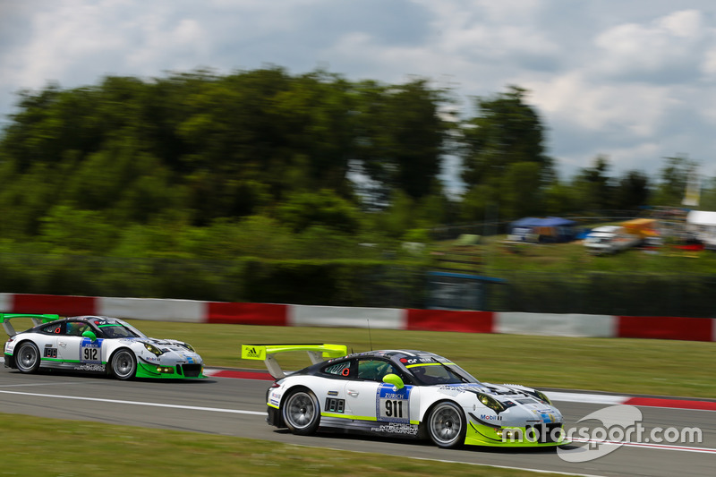 #911 Manthey Racing Porsche 911 GT3 R: Nick Tandy, Kevin Estre, Earl Bamber, Patrick Pilet