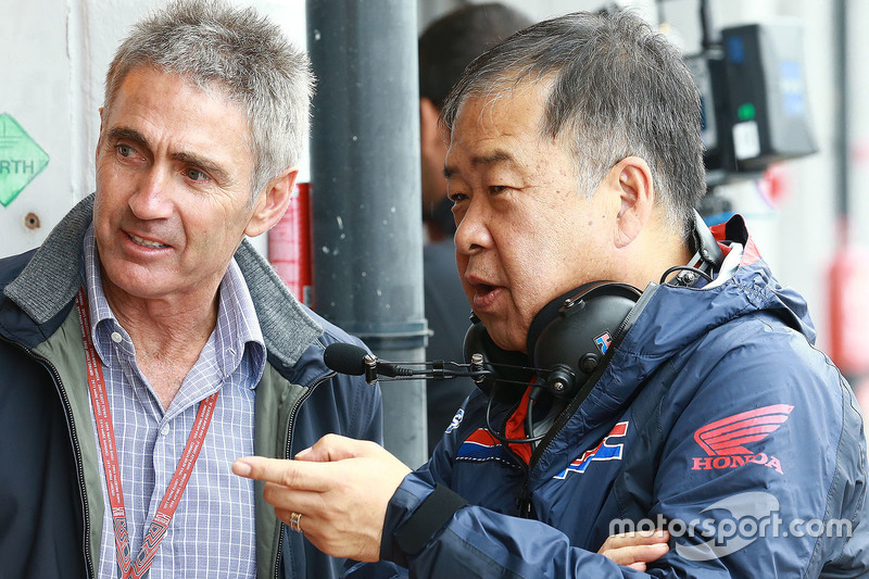 Mike Doohan e Koji Nakajima, Direttore Honda Racing Corporation