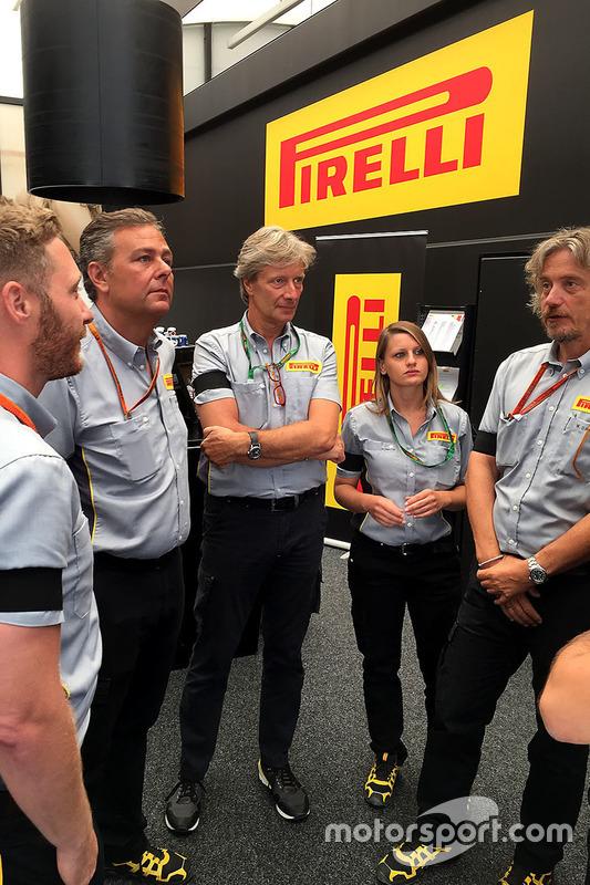 Staff Pirelli a Spa-Francorchamps