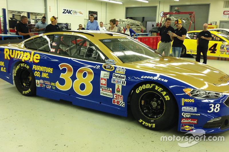 Throwback-Design von Landon Cassill, Front Row Motorsports, Ford