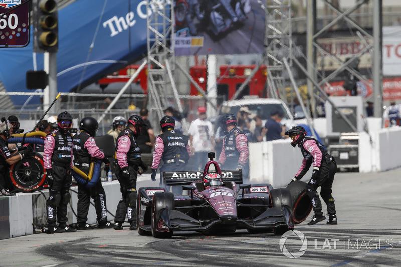 Jack Harvey, Meyer Shank Racing with Schmidt Peterson Honda, au stand