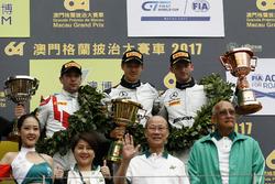Podyum: Yarış galibi Edoardo Mortara, Mercedes-AMG Team Driving Academy, Mercedes - AMG GT3, 2. Robin Frijns, Audi Sport Team WRT, Audi R8 LMS, 3. Maro Engel, Mercedes-AMG Team GruppeM Racing, Mercedes - AMG GT3