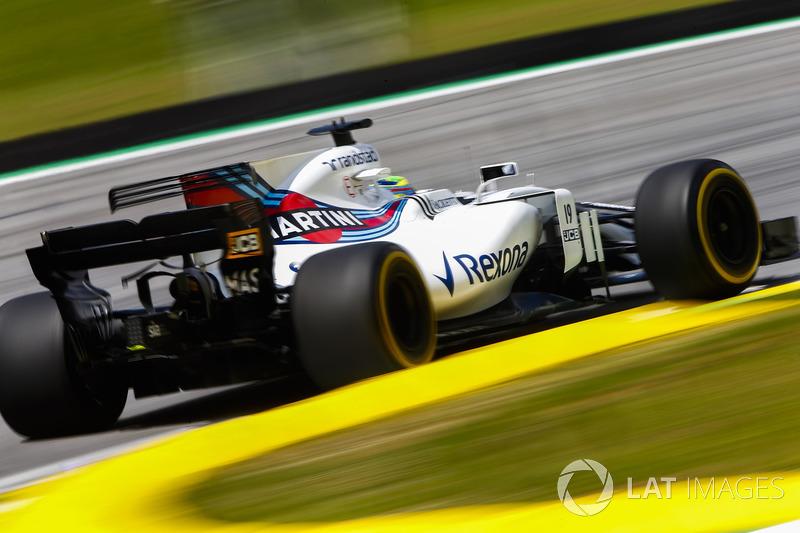 Em seu último GP do Brasil, Felipe Massa largou em nono