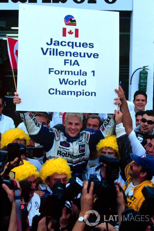 Formel-1-Weltmeister 1997: Jacques Villeneuve, Williams
