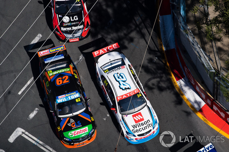 James Moffat, Garry Rogers Motorsport, Alex Rullo, Lucas Dumbrell Motorsport Holden