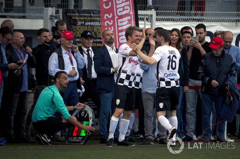 Nico Rosberg y Maro Engel