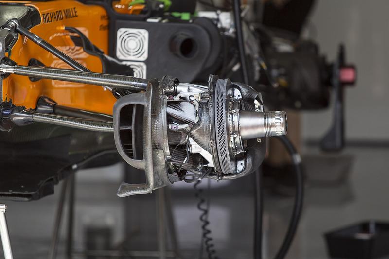 Conducto de freno delantero del McLaren MCL33