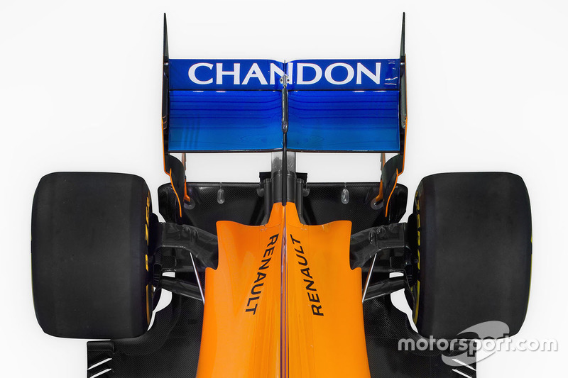 Заднее антикрыло McLaren MCL33