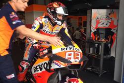 Marc Marquez, Repsol Honda Team with new fairing