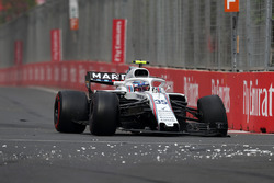 Race retiree Sergey Sirotkin, Williams FW41