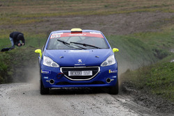 Thomas Schmid, Quentin Marchand, Peugeot 208, Team Rallye Top