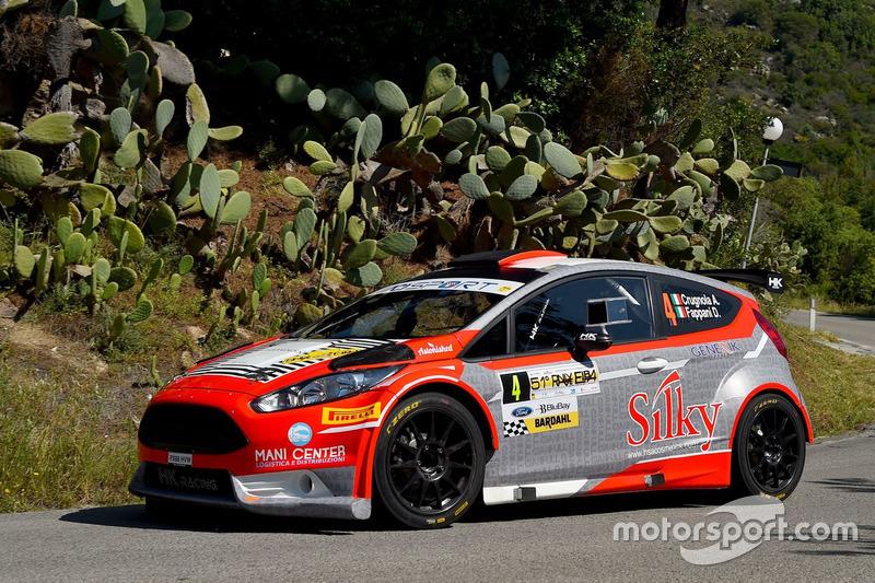 Andrea Crugnola, Danilo Fappani, Ford Fiesta R5, Gass Racing