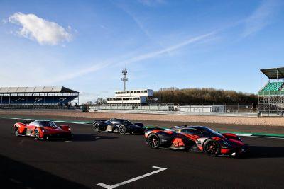 Red Bull Racing Aston Martin Valkyrie esemény