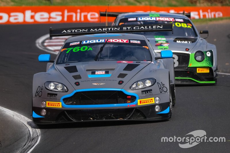 DNF: #760 R-Motorsport Aston Martin Vantage GT3: Florian Kamelger, Andreas Baenziger, Peter Leemhuis, Mathew Parry