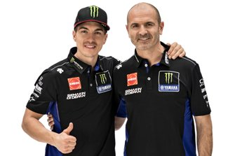 Maverick Vinales, Yamaha Factory Racing, Maio Meregalli, Yamaha Factory Racing team manager