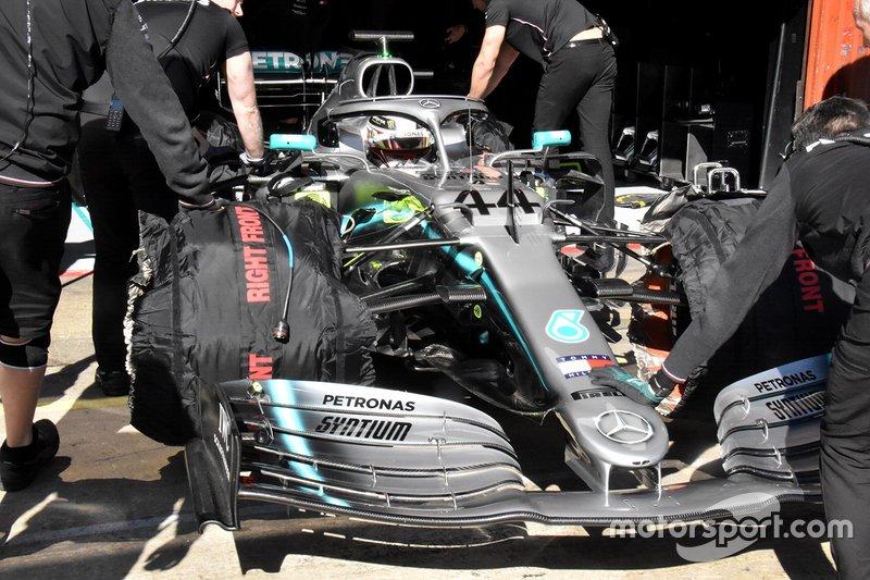 Mercedes AMG F1 W10, dettaglio